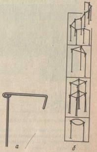 Металлический держатель — шпилька;